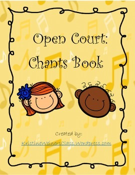 Open Court Chant Book