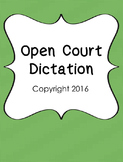 Open Court Dictation Grade 3 ©2016 only