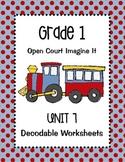 Open Court Imagine It: Unit 7 Decodable Worksheets for Grade 1