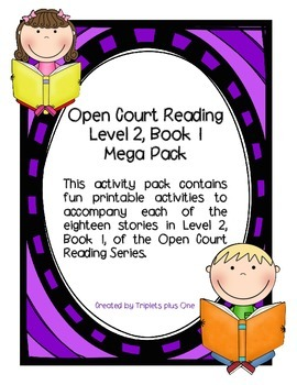 Open Court Level 2, Book 1 MEGA PACK!