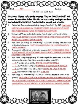 Open Court - McGraw Hill - U3W2 - The Pot That Juan Built Text Dependent ?