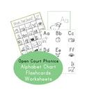 Open Court Phonics - Alphabet Sounds Chart   Flashcards  