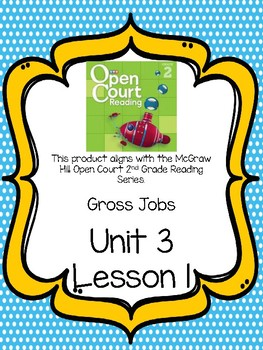 Open Court Reading Comprehension and Vocabulary Unit 3 Lesson 1 Grade 2
