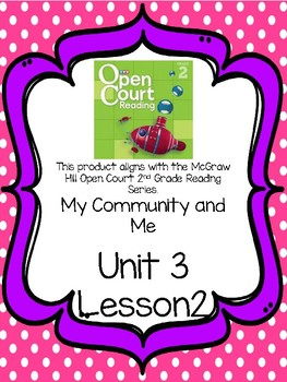 Open Court Reading Comprehension and Vocabulary Unit 3 Lesson 2 Grade 2