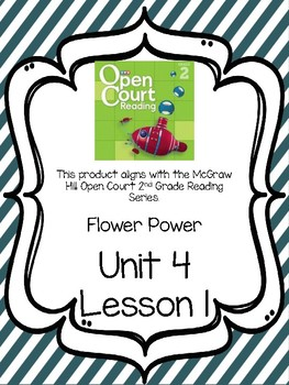 Open Court Reading Comprehension and Vocabulary Unit 4 Lesson 1 Grade 2