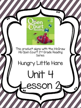 Open Court Reading Comprehension and Vocabulary Unit 4 Lesson 2 Grade 2