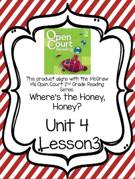 Open Court Reading Comprehension and Vocabulary Unit 4 Lesson 3 Grade 2
