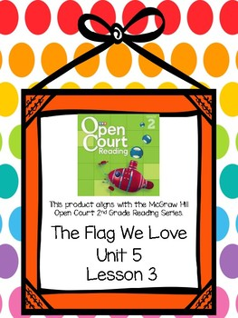 Open Court Reading Comprehension and Vocabulary Unit 5 Lesson 3 Grade 2