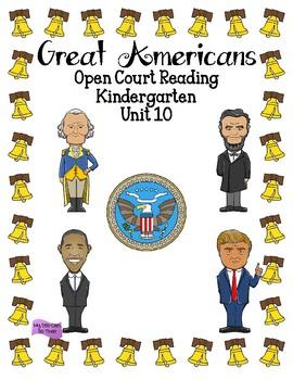 Open Court Reading - Kindergarten - Unit 10