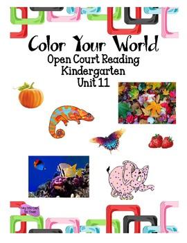 Open Court Reading - Kindergarten - Unit 11