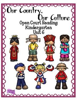 Open Court Reading - Kindergarten - Unit 6