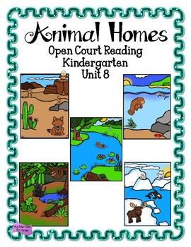 Open Court Reading - Kindergarten - Unit 8