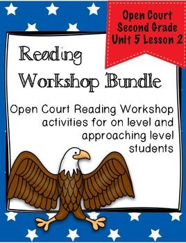 Open Court Reading Second Grade Workshop Bundle Unit 5 Lesson 2