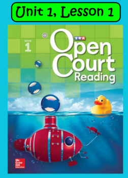 Open Court Reading Vocabulary: Unit 1, Lesson 1