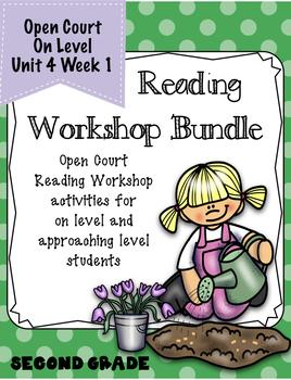 Open Court Reading Workshop Bundle Second Grade Unit 4 Lesson 1