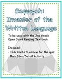 Open Court- Sequoyah Inventor of the Cherokee Written Language