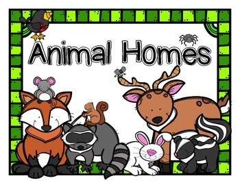 Open Court Story: Animal Homes Story Pack