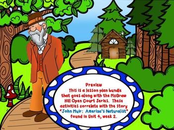 OC - U4W2 - John Muir:  America's Naturalist Lesson Plan Bundle