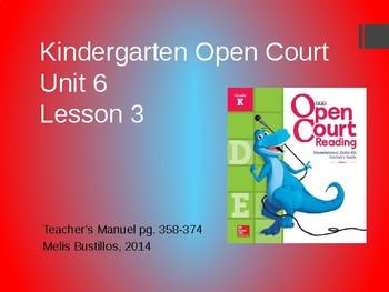 Open Court Unit 6 Lesson 3