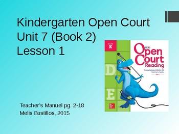 Open Court Unit 7 Lesson 1