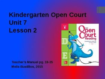 Open Court Unit 7 Lesson 2