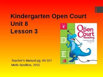 Open Court Unit 8 Lesson 3