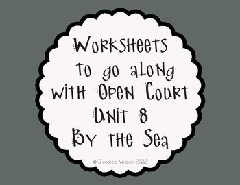 Open Court Unit 8 Worksheets