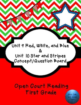 Open Court Unit 9-10 C/Q Board First Grade