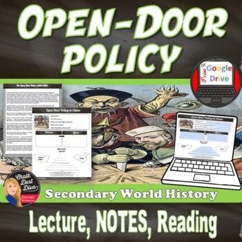 Open door policy history Uncle Sam Pinterest Open Door Policy With China imperialism us History grades 712