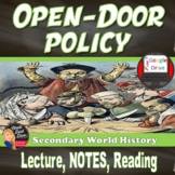 Open Door Policy with China -Imperialism (U.S. History) (G