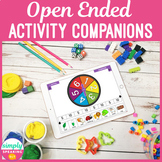 No Print Open Ended Activity Companion for Speech & Language iPad or Teletherapy