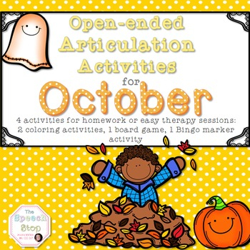 Open-Ended Articulation Homework for October (Fall and Hal