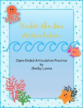 Open-Ended Articulation Practice Worksheets