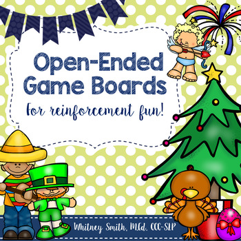 Open Ended Board Game Holiday & Theme Bundle