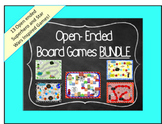 Open Ended Board Games Bundle- Superheroes & Star Wars Inspired