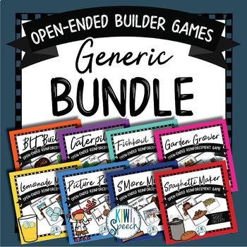 Open Ended Builder Games MEGASET - Generic Edition