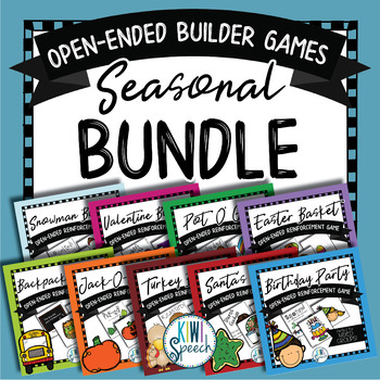 Open Ended Builder Games MEGASET - Seasonal & Holiday Edition