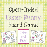 Open-Ended Bunny Board Game {FREE}