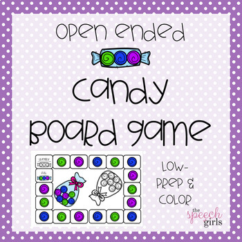 Open-Ended Candy Board Game