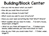 Open-Ended Center Questions