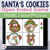 Open Ended Christmas BOOM Cards™  for Speech Therapy