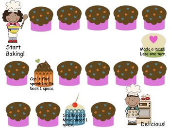 Open-Ended Cupcake Board Game