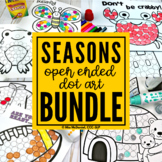 Open Ended Dot Art Bundle |  Seasons