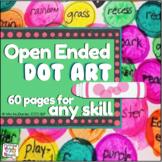Open Ended Dot Art (No Prep!!}