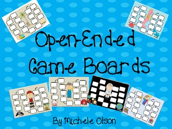 Open-Ended Game Boards{Free!}