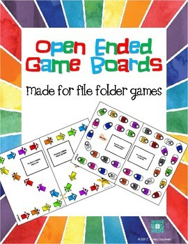 Open Ended Game Boards