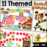 Open Ended Game Boards {August thru December Edition}