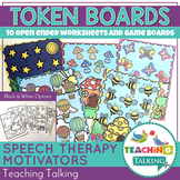 Speech Therapy Games - Open ended worksheets and game boards