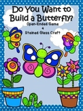 Speech Therapy Game and Craft Build a Butterfly