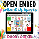 Open Ended Game for ANY skill FREE Sample | School in Mask